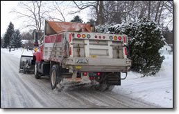 Plow Truck - Borough of Somerst Snow Removal Policy